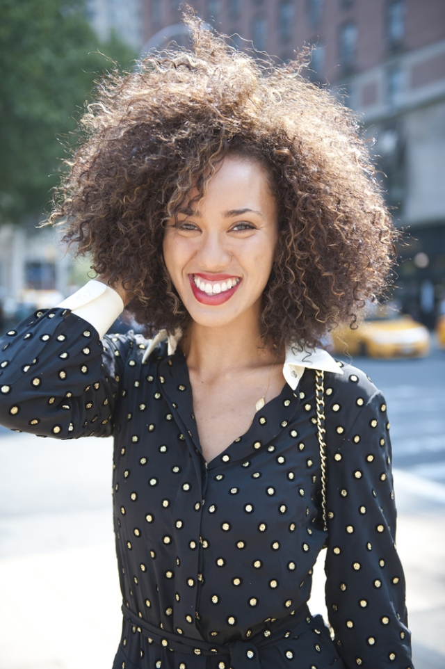 My feature in Huffington Post's top 45 NYFW Beauty Street Style Moments!