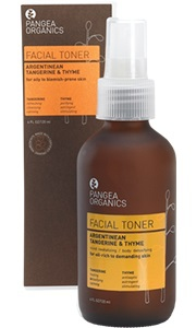 ARGENTINEAN TANGERINE & THYME FACIAL TONER - OILY